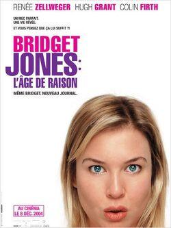 Couverture de Bridget Jones, l'âge de raison