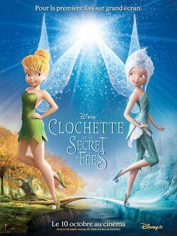 Couverture de Clochette et le secret des fées