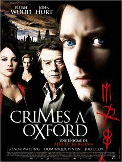 Couverture de Crimes à Oxford