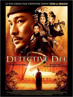 Couverture de Detective Dee : Le mystère de la flamme fantôme