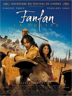 Couverture de Fanfan La Tulipe