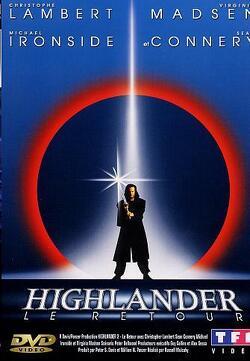 Couverture de Highlander le retour