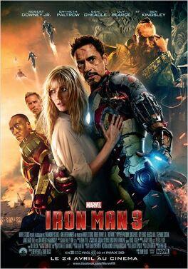 Couverture du livre : Iron Man 3