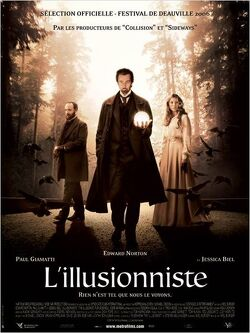 Couverture de L'illusionniste