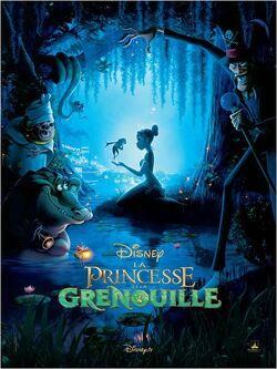 Couverture de La Princesse et la Grenouille
