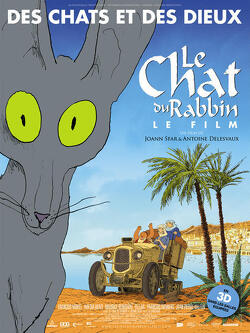 Couverture de Le Chat du Rabbin