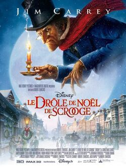 Couverture de Le Drôle de Noël de Scrooge