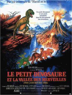 Couverture de Le Petit dinosaure et la vallée des merveilles