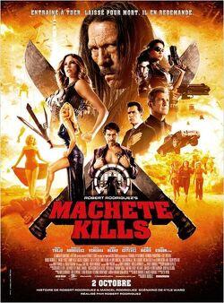 Couverture de Machete Kills