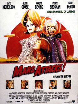 Couverture de Mars Attacks!