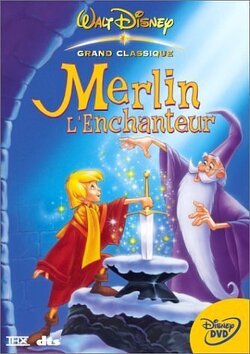 Couverture de Merlin l'Enchanteur
