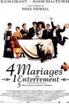 couverture Quatre mariages et un enterrement
