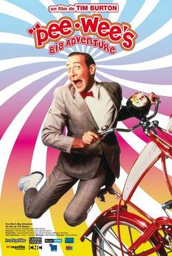 Couverture de Pee Wee's Big Adventure