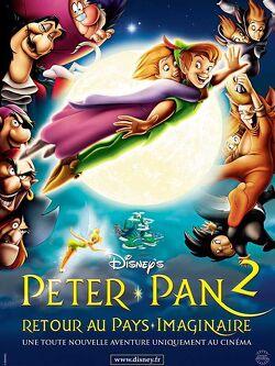 Couverture de Peter Pan 2, retour au pays imaginaire