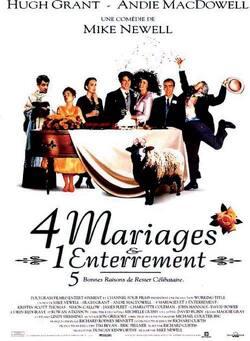 Couverture de Quatre mariages et un enterrement