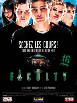 Couverture de The Faculty