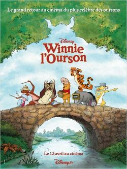 Couverture de Winnie l'ourson