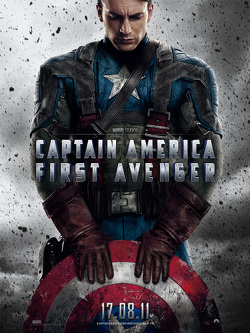 Couverture de Captain America, the first Avenger