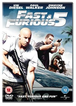 Couverture de Fast and Furious 5