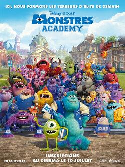 Couverture de Monstres Academy