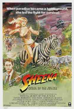 Couverture de Sheena, reine de la jungle