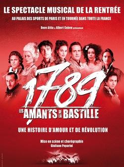 Couverture de 1789 les Amants de la Bastille