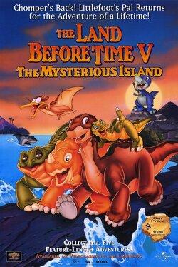 Couverture de Le petit dinosaure 5 : l'île mystérieuse