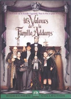Couverture de Les valeurs de la famille Addams