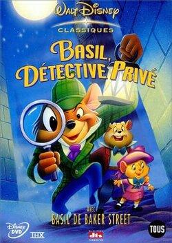 Couverture de Basil, détective privé