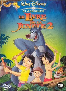 Couverture de Le Livre de la jungle 2