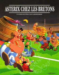 Couverture de Astérix chez les Bretons
