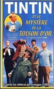 Couverture de Tintin et le Mystère de la Toison d'or