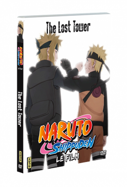 Couverture de Naruto Shippuden: The Lost Tower