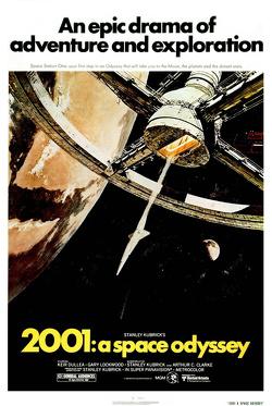 Couverture de 2001, l'Odyssée de l'espace