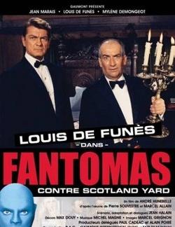 Couverture de Fantômas contre Scotland Yard