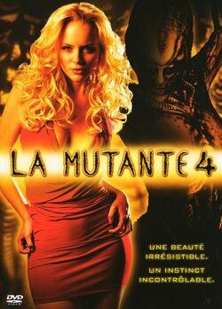Couverture de La mutante 4