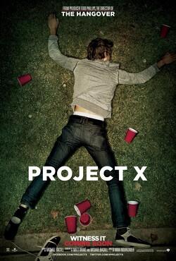 Couverture de Projet X