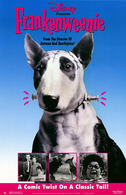 Couverture de Frankenweenie (1984)
