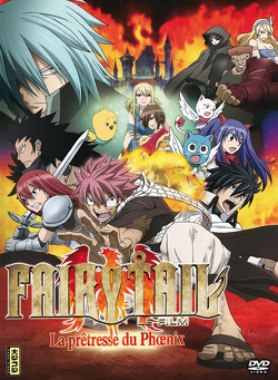 Couverture de Fairy Tail - Le Film : la Prêtresse du Phoenix