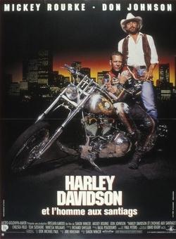 Couverture de Harley Davidson et l'homme aux santiags