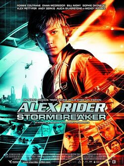 Couverture de Alex Rider : Stormbreaker