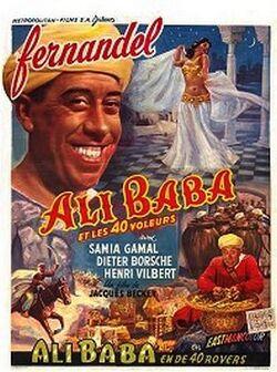 Couverture de Ali Baba et les quarante voleurs