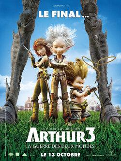 Couverture de Arthur 3 : La Guerre des Deux Mondes