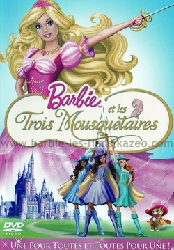 Couverture de Barbie et les Trois Mousquetaires