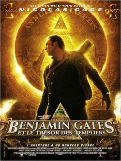 Couverture de Benjamin Gates et le trésor des Templiers