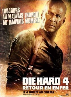 Couverture de Die Hard 4 Retour en enfer