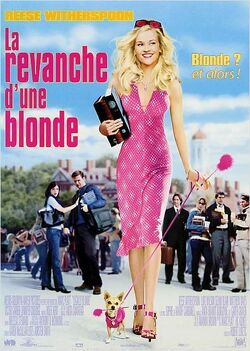 Couverture de La Revanche d'une blonde