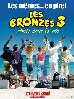 Couverture de Les Bronzés 3 : Amis pour la vie