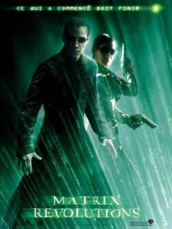 Couverture de Matrix Revolutions