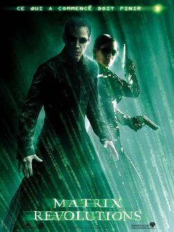 Couverture de Matrix Revolutions